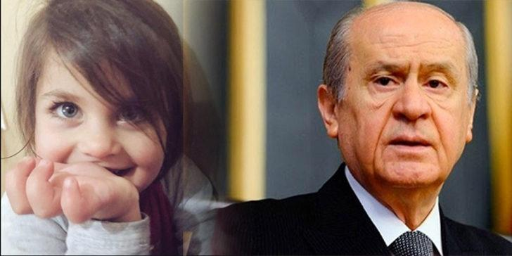 MHP Lideri Devlet Bahçeli'den Ağrı'da cansız bedeni bulunan minik Leyla için dikkat çeken mesaj!