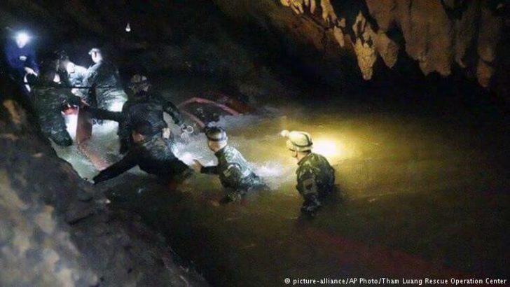 Mağarada kaybolan çocuklar 9 gün sonra bulundu