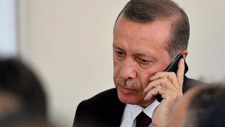 Cumhurbaşkanı Erdoğan Barzani ile telefonda görüştü