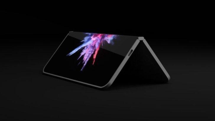 Katlanabilir Microsoft Surface'in ayak sesleri