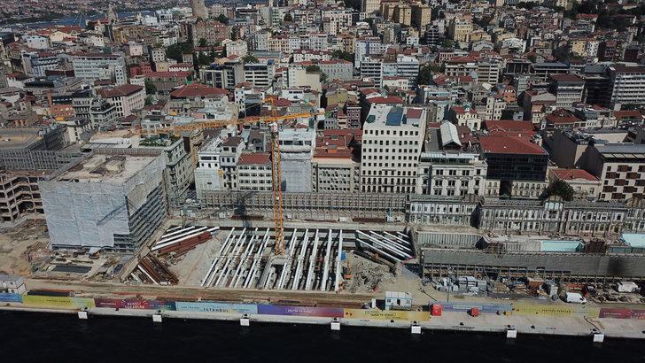 Galataport Projesi'nde İstanbul Modern'in eski binası yıkıldı