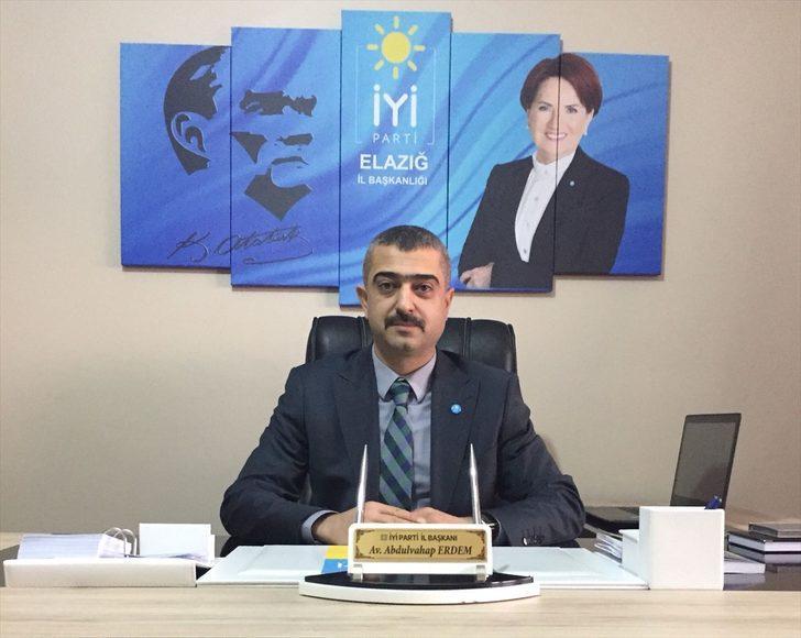 İYİ Parti Elazığ Kurucu İl Başkanı Abdulvahap Erdem istifa etti!