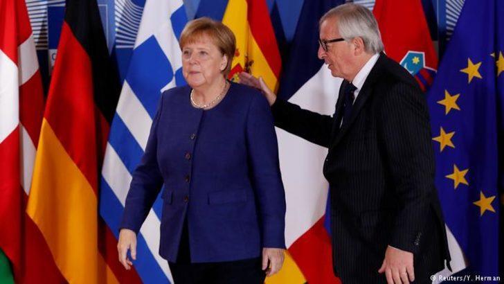 Juncker'den sığınmacı anlaşmasına olumlu görüş