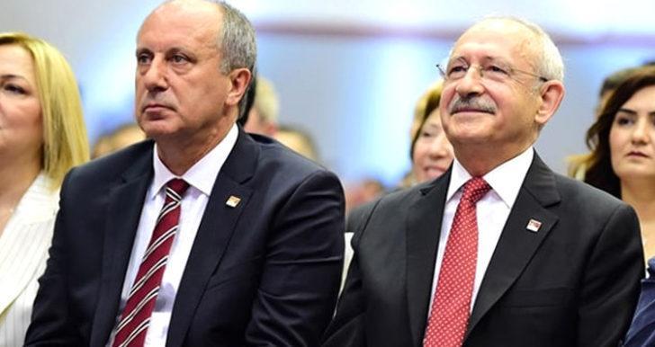 Kemal Kılıçdaroğlu Muharrem İnce arasındaki kriz büyüyor! 'Örgüte kimse talimat veremez'