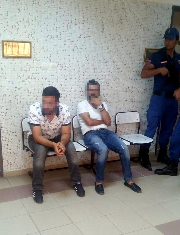 'Polisiz' diyerek dolandırıcılık yapmak isteyen 2 şüpheli tutuklandı
