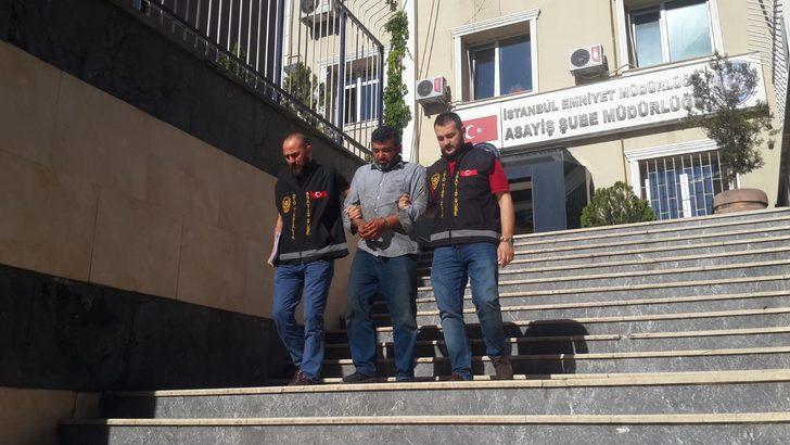 İstanbul'da çaldı Suriye'de satacaktı