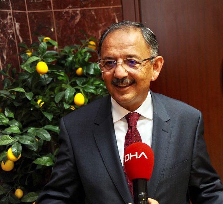Bakan Özhaseki'den 'imar barışı' ve 'yayla evleri' açıklaması