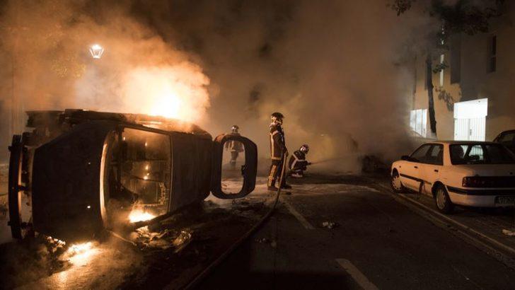 Fransa'da Polis Cinayeti Mahalleleri Ayaklandırdı