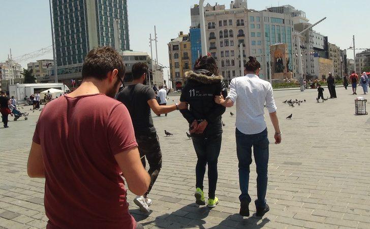 Son dakika! Taksim Meydanı'nda hareketli dakikalar
