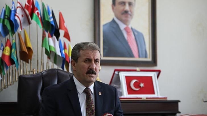 BBP Genel Başkanı Mustafa Destici'den flaş kabine açıklaması: Yer almam söz konusu değil