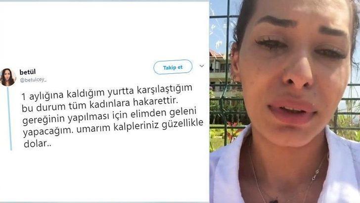 Sakarya'daki KYK yurdunda 'şort' skandalı! Genç kız sosyal medyadan paylaştı