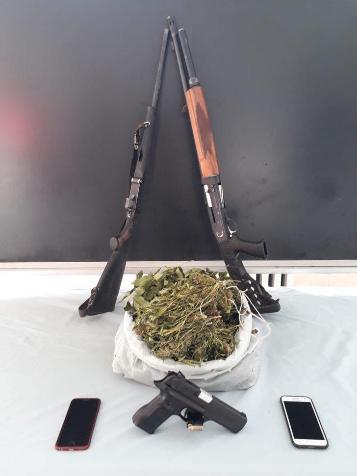 Gerger'de uyuşturucu operasyonu: 2 gözaltı