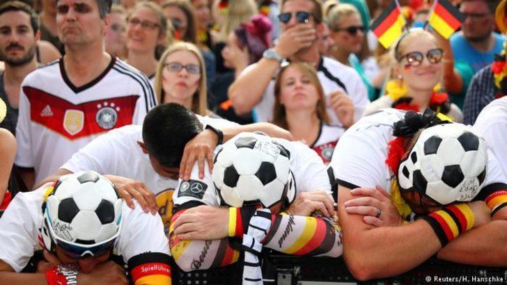 Alman taraftarlar kimi destekliyor?