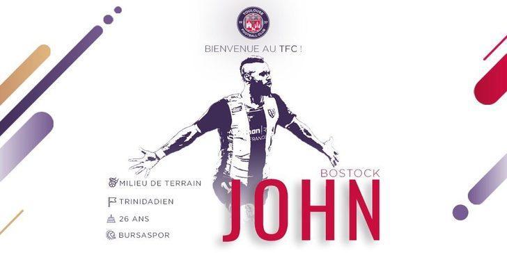 JOHN BOSTOCK | Bursaspor > Toulouse