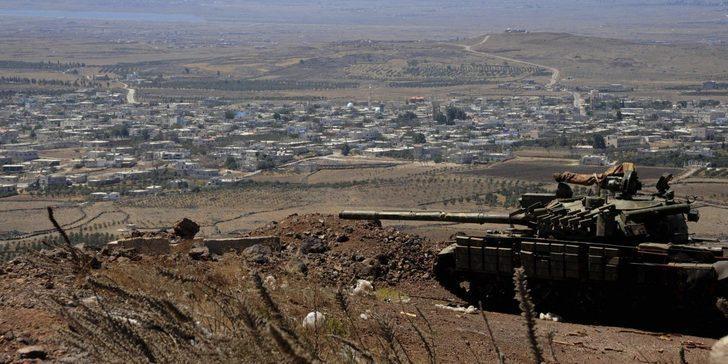 İsrail Suriye rejimine karşılık verdi