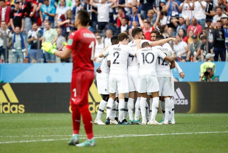 Uruguay 0 - 2 Fransa (Maç özeti)