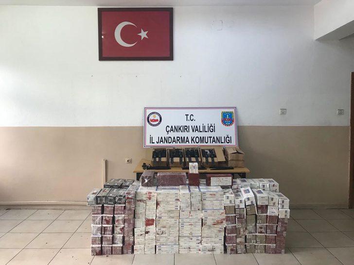 Çankırı'da kaçakçılık operasyonu
