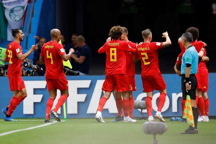 Brezilya 1 - 2 Belçika (Maç özeti)