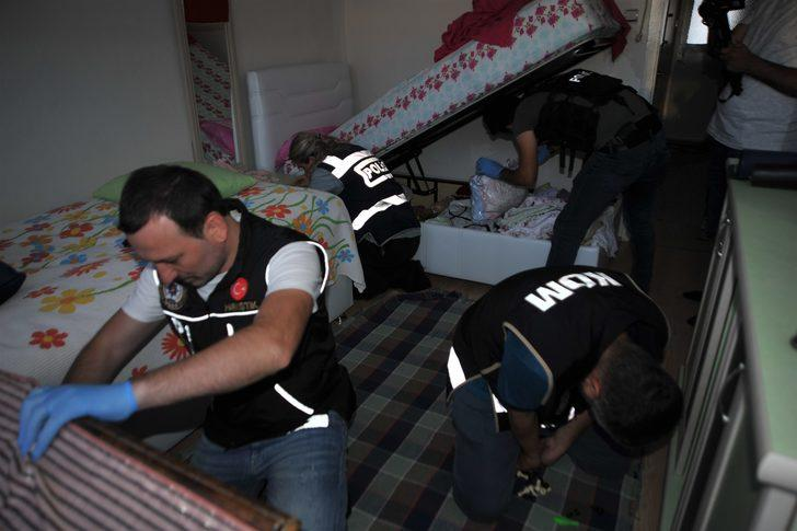 Silah kaçakçılığı operasyonunda 9 tutuklama