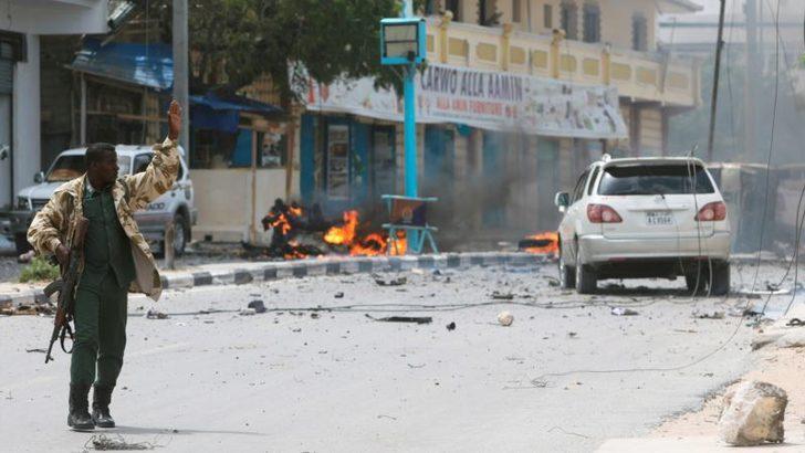 Somali'de Bombalı Saldırılar