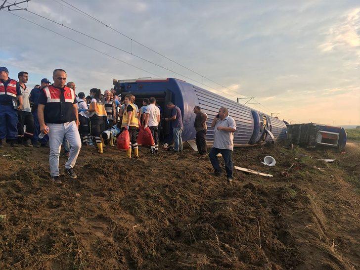 Tekirdağdaki Tren Kazasının Ardından çorlu Belediyesinden