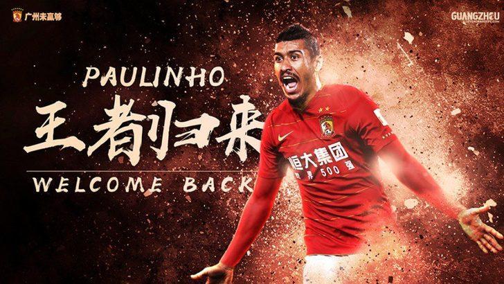 PAULINHO | Barcelona > Guangzhou Evergrande (Kiralık)