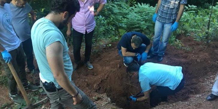 Kocaeli'deki cinayet yıllar sonra çözüldü! Cesedi poşet içinde gömülü bulundu