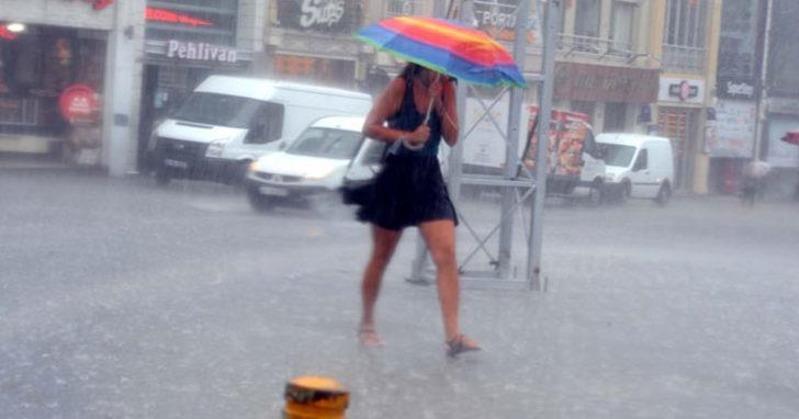İstanbul hava durumu! Meteoroloji'den son dakika yağmur uyarısı