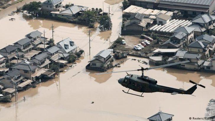 Japonya'da yağışlar yüzünden can kaybı 100'e yükseldi