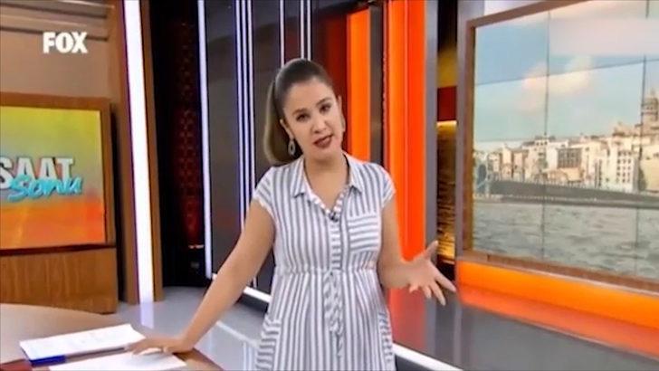 Fox TV sunucusu canlı yayında rezil oldu! Rejiye patladı