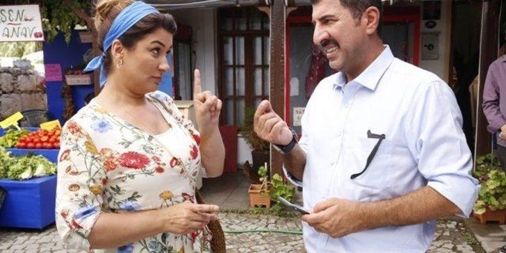 İclal Aydın, Egenin Hamisinde Ege yemekleri lokantası işleten Melahat Çınarı canlandırıyor