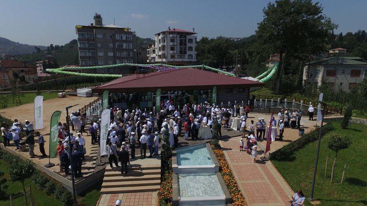 'Trabzon Botanik' hizmete açıldı