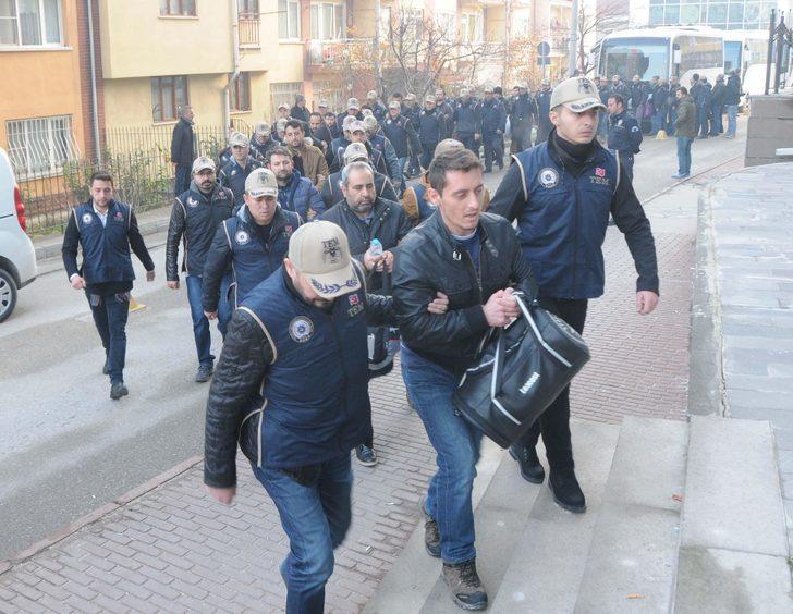 Eskişehir'de 67 FETÖ sanığının yargılanmasına başlandı