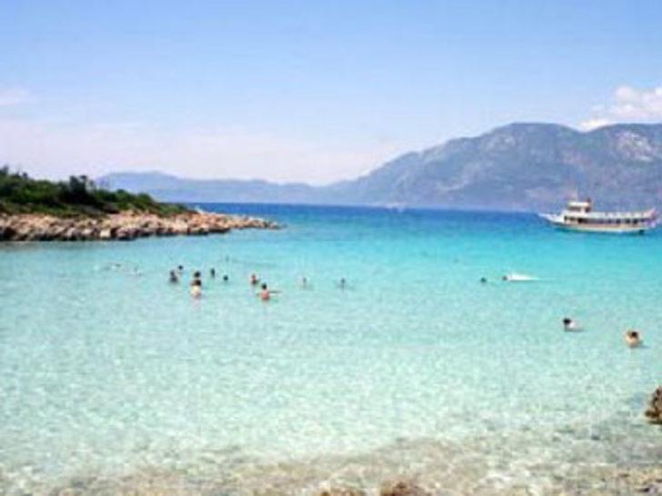 Kleopatra Plajı'nın kumu koruma altında