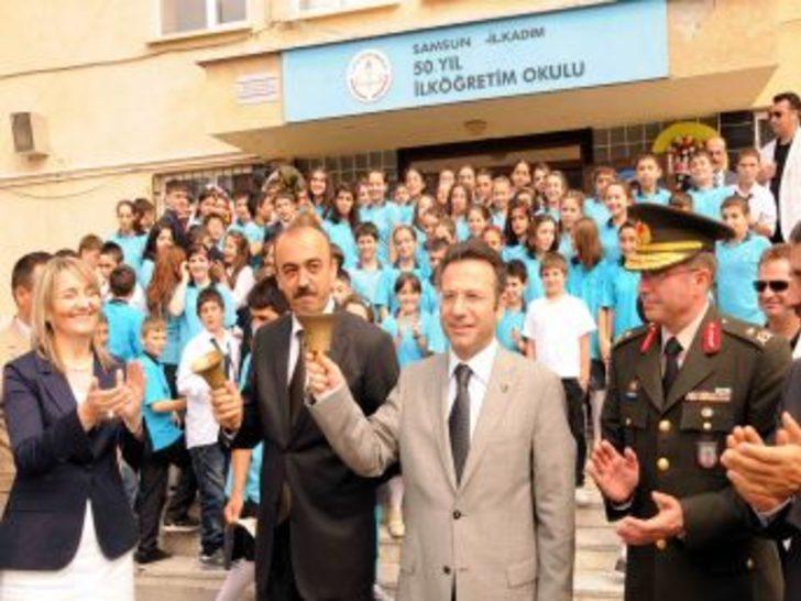 Samsun'da 265 bin öğrenci ders başı yaptı