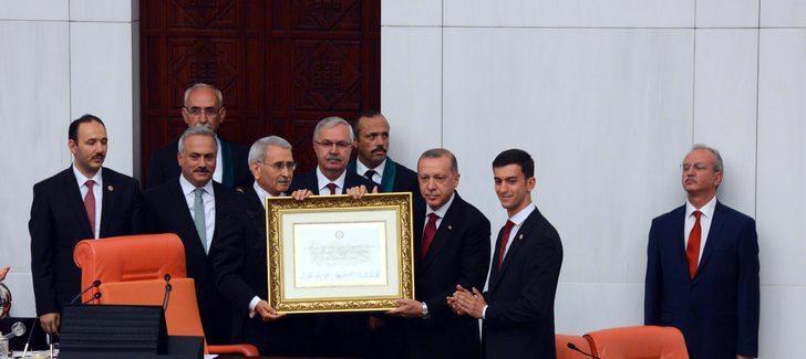 Cumhurbaşkanı Erdoğan'ın yeminiyle yeni sistem başladı