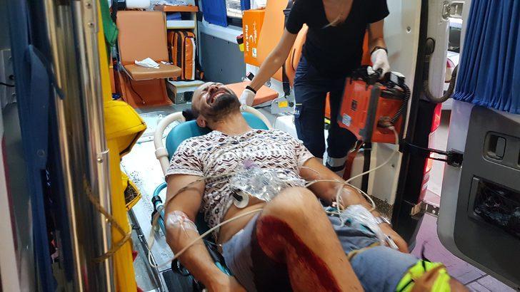 Çay ocağı işletmecisini ayağından vurdu