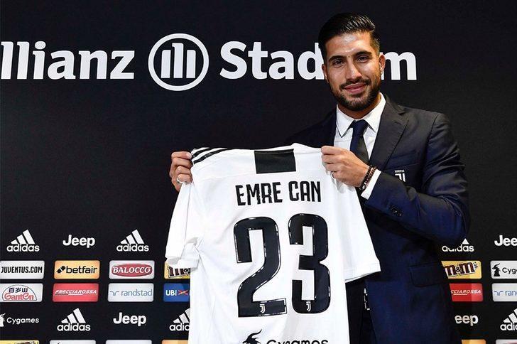 Juventus'a imza atan Emre Can'dan Ronaldo açıklaması