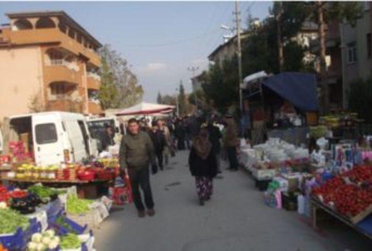 Erbaa'da çarşamba pazar yeri değişti