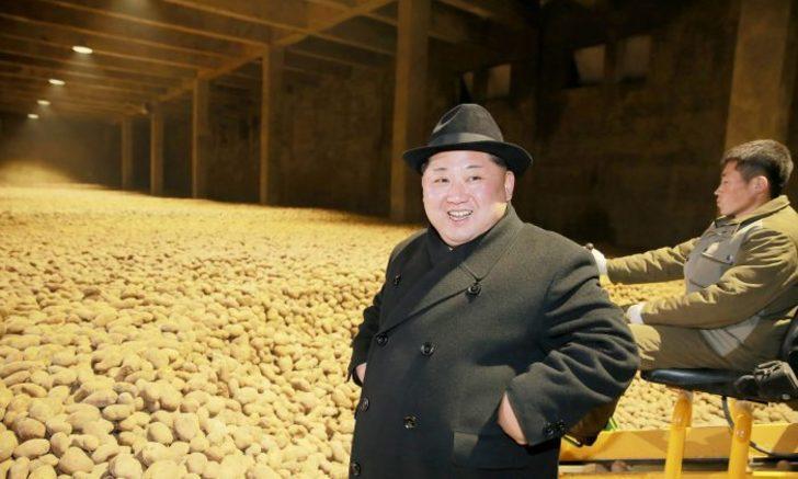 Kuzey Kore liderinin patates tutkusu ilişkileri gerdi!