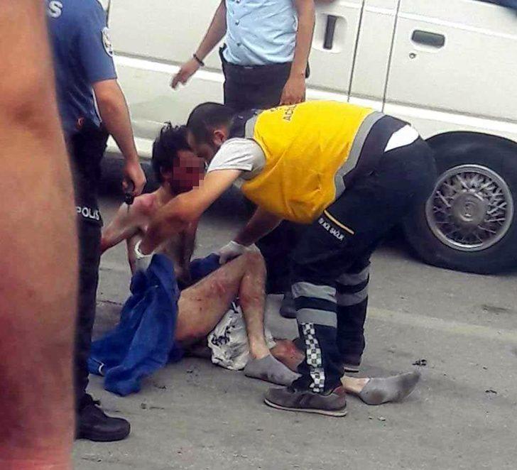 Gelinini sevgilisiyle yakaladı, çıplak halde kaçan adamı mahalleliyle dövdü