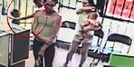 Çocuk kaçırma girişimi kamerada