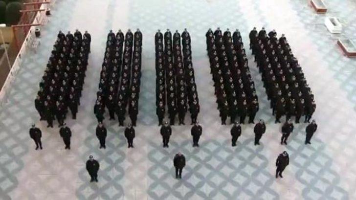Yeni kolluk gücü Takviye Hazır Kuvvet personelinin kıyafeti belli oldu