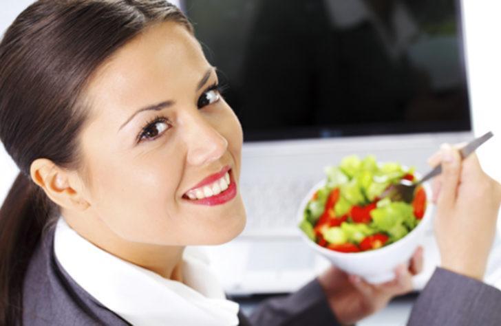 Ofis saatleri için diyet önerileri