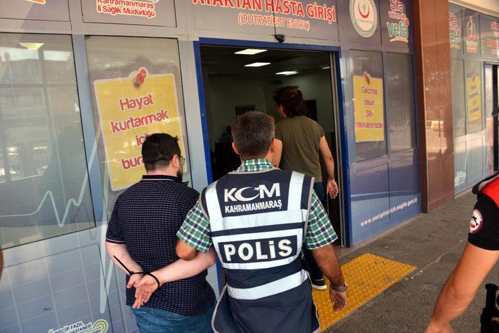 Kahramanmaraş'ta organize suç örgütlerine operasyon: 8 gözaltı (2)