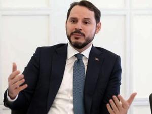 Hazine ve Maliye Bakanı Berat Albayrak  açıkladı! Bütçe açığı 2018'de 72.6 milyar lira oldu