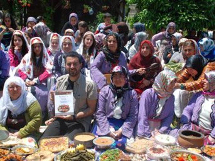 Manavgat'ın yemekleri tanıtıldı