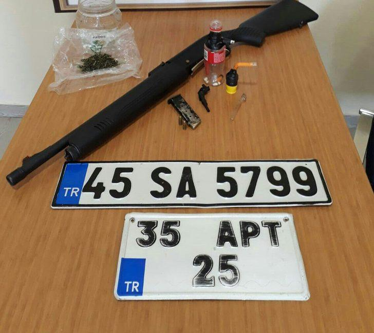 Salihli'de uyuşturucu operasyonu: 6 tutuklama