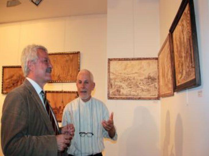 Kosovalı Ressamın Sergisi Çsm'de Açıldı
