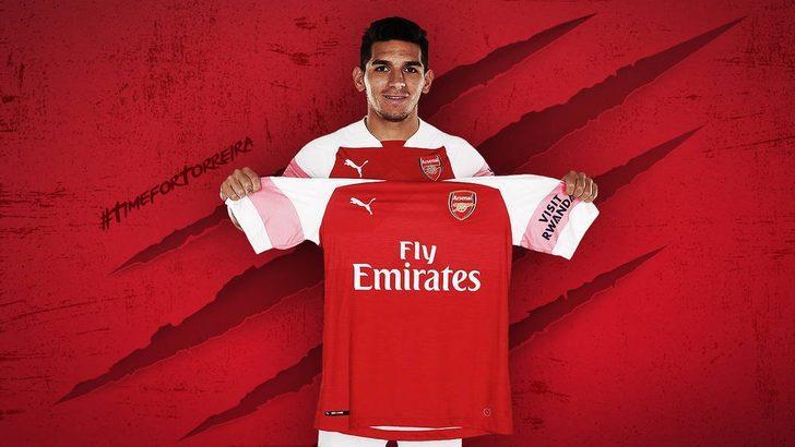 Arsenal, Lucas Torreira renklerine bağladı